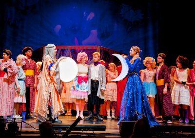 Die Zauberflöte 2017 - Sarastro und Königin der Nacht Finale